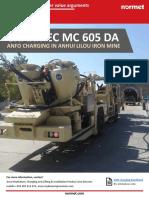 Charmec MC 605 DA Anfo Charging in Anhui Lilou Iron Mine - Customer Value Arguments - 20190503