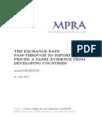 MPRA Paper 64938