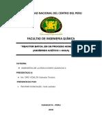 Informe de Reactor Batch Adiabatico