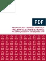 Protocolo Clinico e Diretrizes PPexposição Maria Clara Padoveze 2015