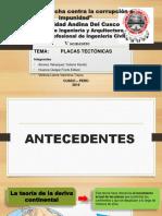 PRESENTACIÓN DE PLACAS TECTÓNICAS