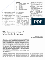 The Economic Design of  Mixer-Set tler Extractors