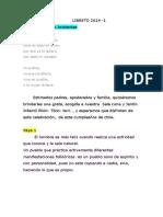 Libreto 2014 Fiestas Patrias