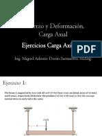 Ejercicio Carga Axial