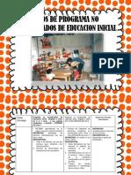 Tipós de Programa No Escolarizados de Educacion Inicial (1)