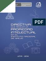 Directiva Prop. Intelectual WEB