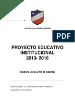 Proyecto Institucional Los Llanos