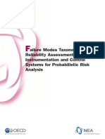 Failure Modes Taxinomy for Reliability Instrumentation Pra