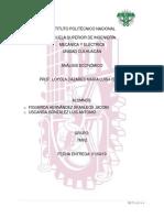 Proyecto Filtro de Aire (Análisis Económico)