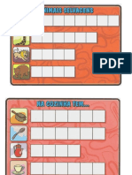 Cartelas p Alfabetização