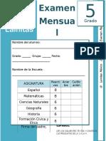 Septiembre - 5to Grado - Examen Mensual (2019-2020)