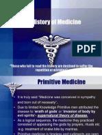 Histroy of Medicine