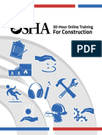 Osha 30 Hr Outreach Study Guide