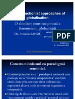 O Abordare Constructionista a Fenomenului Globalizarii