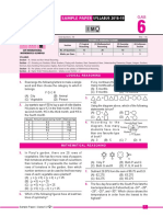 SFO Class6 Sample Question Syllabus