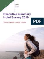 Hotel Survey 2019 Executive Summary Eng