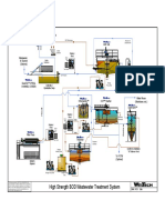 Flow Sheet Writeup High Strenghth BOD Wastewater