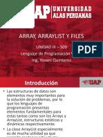 9. Array, ArrayList Y Files
