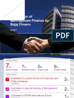 Bajaj Finserv and Manappuram Finance Acquisition Idea