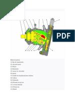 Motor de Piston Hidrostatico d5gxl