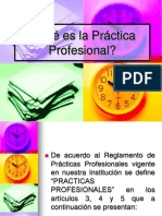 Practicas Profesionales