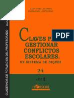 CFP 24. Claves para gestionar conflictos escolares. Un sistema de diques.pdf