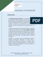 Portafolio de Servicios - Conferencia Prevención de La Drogadicción