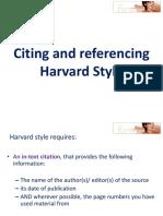 Harvard Style 3