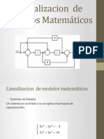 Linealizacion de Modelos Matemáticos(1)