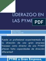 Liderazgo en Las Pymes
