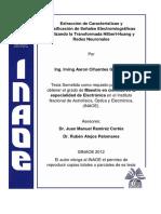 Extracción de Características y Clasificación de Señales Electromiográficas Utilizando la Transformada Hilbert-Huang y Redes Neuronales