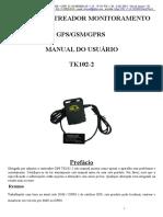 TK102 -2 Rastreador GPS - Manual do Usuário