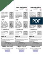 Flyer curso 2016 tamtam idiomas (desactualizado)