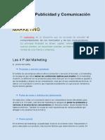 Marketing, Publicidad y Comunicación - Definiciones y Diferencias