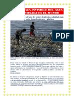 La Amenaza Invisible Del Agua Contaminada en El Mundo