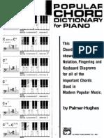 Book - Palmer-Hughes - Popular Chord Dictionary for Piano