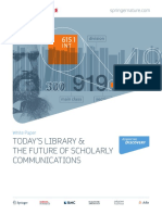 Today's Library and the Future of Scholarly Communications
