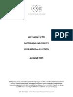 Magop Battleground 2020 General Election Survey 082719