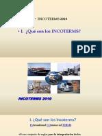 Introducción a Los INCOTERMS 2010 Términos de Referencia Internacional