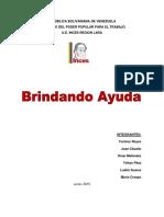 Informe Labor Social Chuello