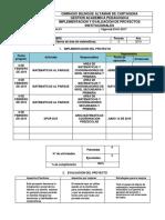 Implementacion y Evaluacion de Proyectos Institucionales2