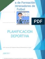 Planificacion Deportiva Teoria EFPEF