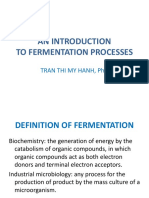 An Introduction to Fermentation Processes(1)