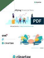 ClearTax Presentation