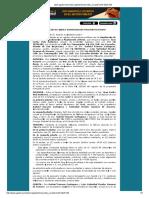 Minuta de Ampliación de fábrica e independización - Perú
