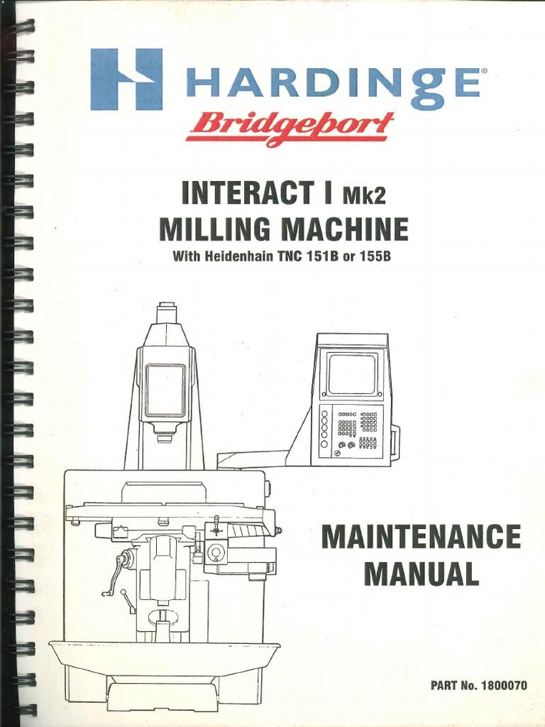 bridgeport wiring diagram bridgeport interact mk2 manual  bridgeport interact mk2 manual