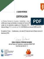 CERTIFICACION AGUA POTABLE ENERO 2019.pdf