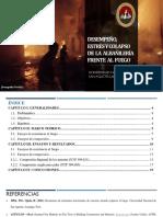 Resistencia al fuego de la albañilería