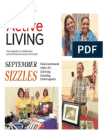 September 2019 issue of Active Living Active