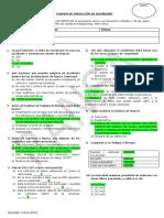 Respuestas - Examen de Inducción de Seguridad - Marzo 2019